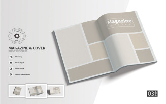 Magazine - Product Mockup Template Set