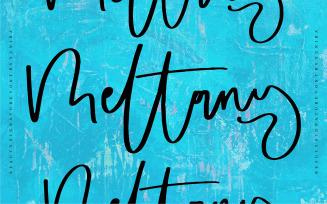 Meltany | Beauty Signature Font