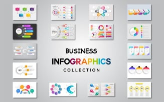 Business Collection Ai Vector Infographic Elements