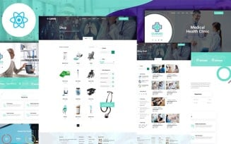 Clinvee React Medical hospital Responsive Clinic