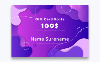 Free Classic Gift Certificate Template
