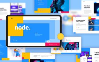 Node Creative Google Slides Template