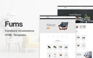 Furns - Furniture eCommerce Bootstrap5 Website Template