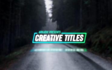 Premiere Pro: Creative Titles 4k
