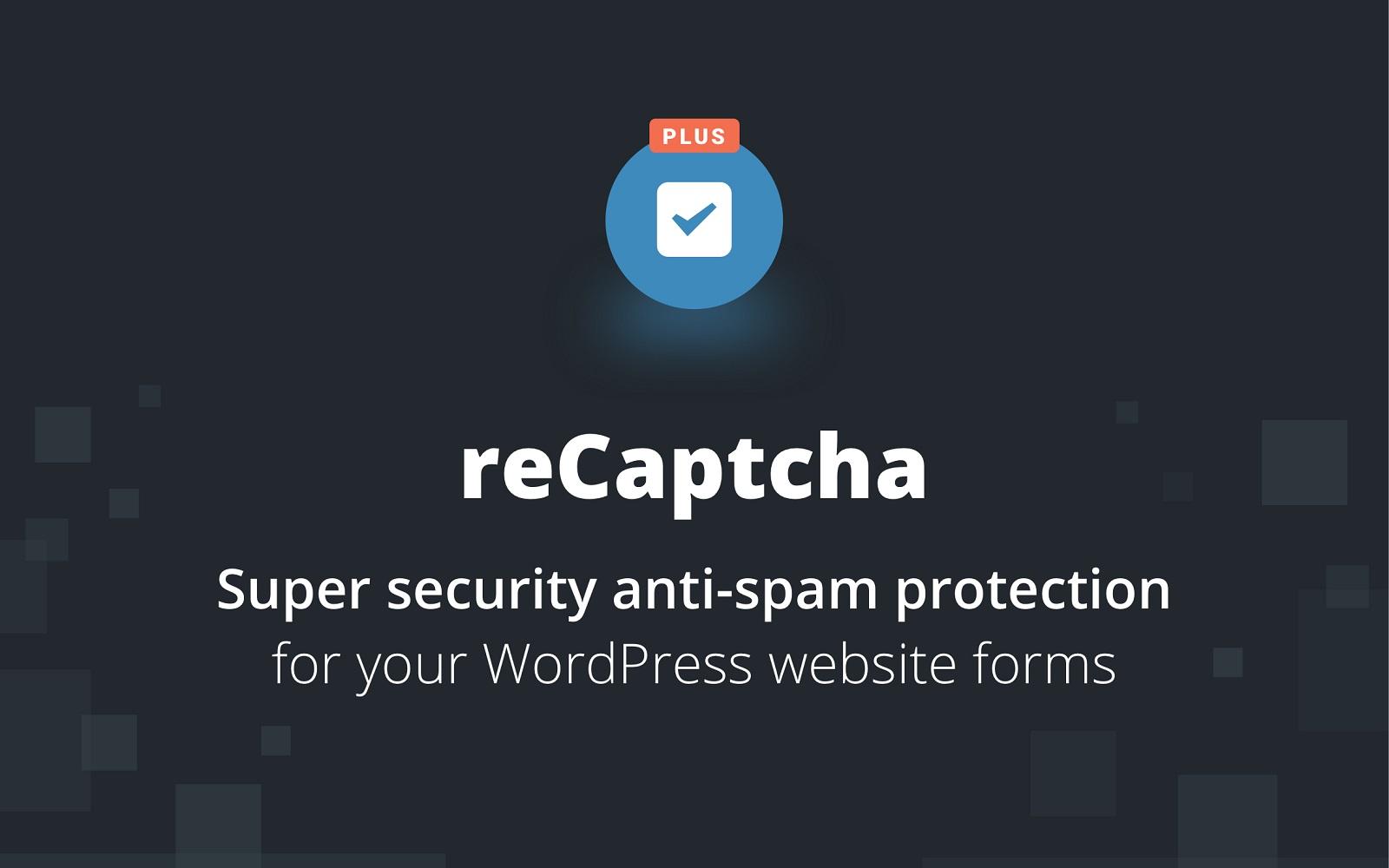 reCaptcha Plus WordPress-plug-in