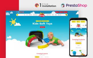 Toyshop - Kids Clothing and Toys store PrestaShop Theme