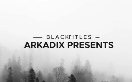 Black Titles Final Cut Pro Template