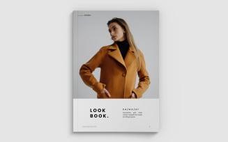 Minimal Fashion Lookbook Magazine Templates