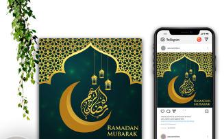 Ramadan Kareem Social Media Post Template