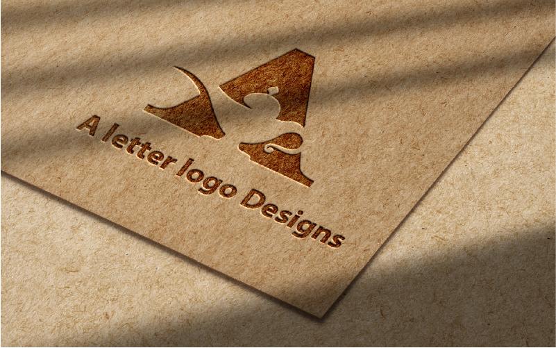 Een brief | Professioneel ontwerp - Logo sjabloon
