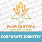 Flowers Corporate Identity Template 17806