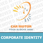 Cars Corporate Identity Template 17849