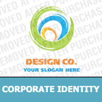 Web design Corporate Identity Template 17852