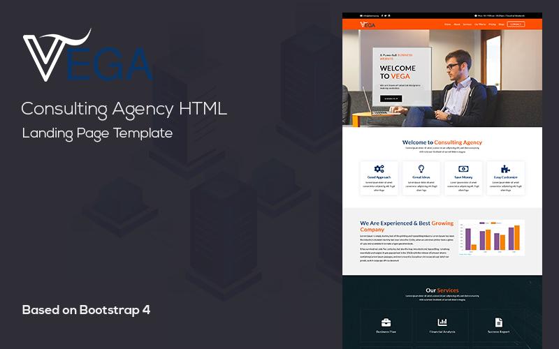 VEGA - Business HTML Landing Page Template