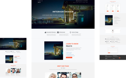 ARCHS - INTERIOR DESIGN Elementor Page Template Elementor Kit