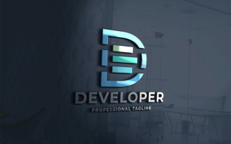 Development Letter D Logo template