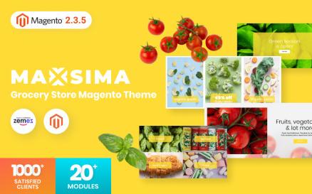 Maxsima - Grocery Store Magento2 Theme Magento Theme