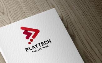 Play Tech Pro Logo template