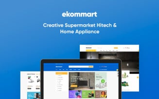 TM Ekommart - Perfect Supermarket for Hitech; Home Appliances Online store PrestaShop Theme