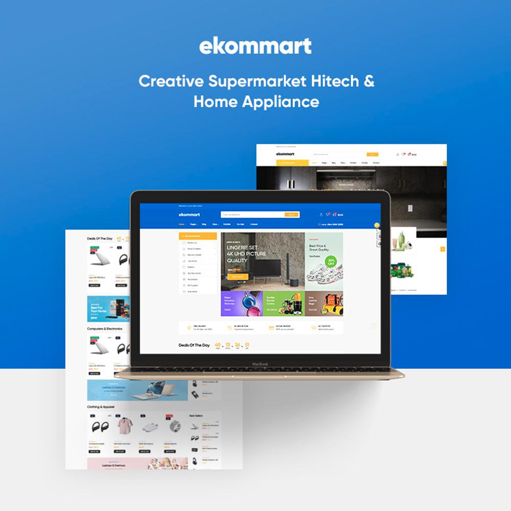 TM Ekommart - Perfecte supermarkt voor Hitech; Huishoudelijke apparaten Online winkel PrestaShop Theme