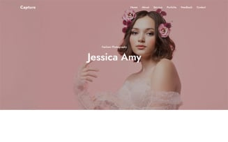 Capture - Photography HTML Landing Page