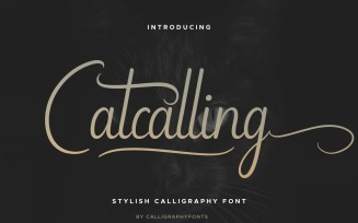Catcalling Script Font