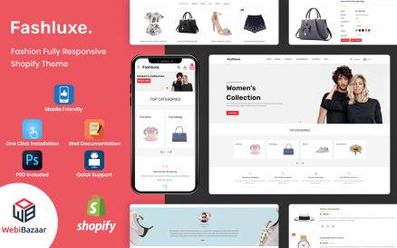 Fashluxe - Modern Fashion Shopify Template Shopify Theme