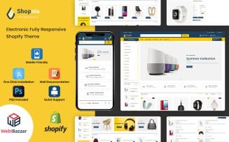 Shopnia - Multipurpose Premium Shopify Template