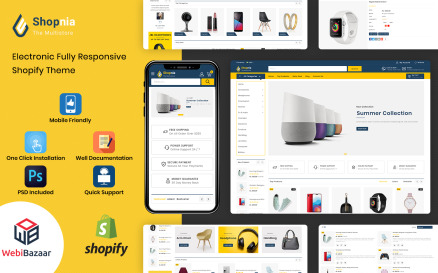 Shopnia - Multipurpose Premium Shopify Template Shopify Theme