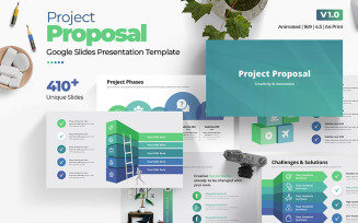 The Best Project Proposal Google Slides Template