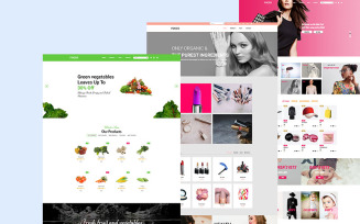 Foods-Multi-Purpose Website Template