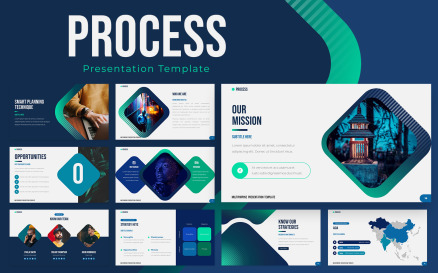 Process Powerpoint Presentation Template PowerPoint Template