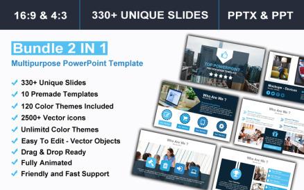 Bundle 2 IN 1 Multipurpose PowerPoint Template