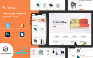 Furnimal - Multipurpose Furniture & Interior OpenCart Template