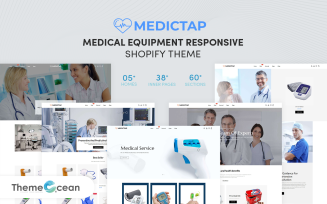 Medictap - Medical Equipment Responsive Shopify Theme