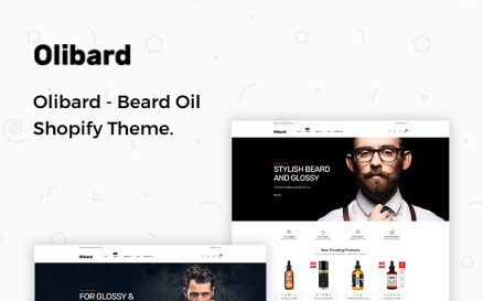 Olibard - Beard Oil Shopify Theme