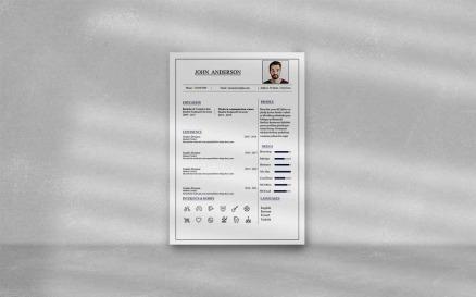 John Anderson _ Resume Template For Everyone Printable Resume Templates