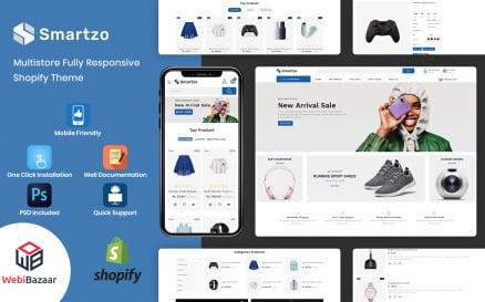 Smartzo - Premium Shopify Template Shopify Theme
