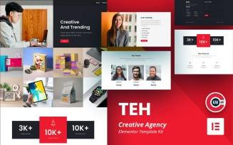 TEH - Creative Agency Elementor Kit