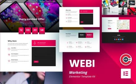WEBI - Marketing Elementor Kit