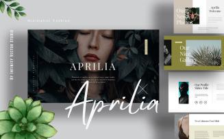 Aprilia Fashion Keynote