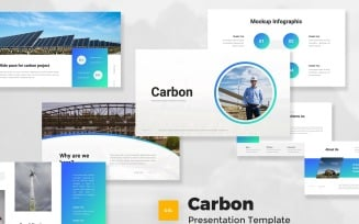 Carbon - Renewable Energy Google Slides Template