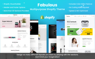 Fabulous - Multipurpose Shopify Theme