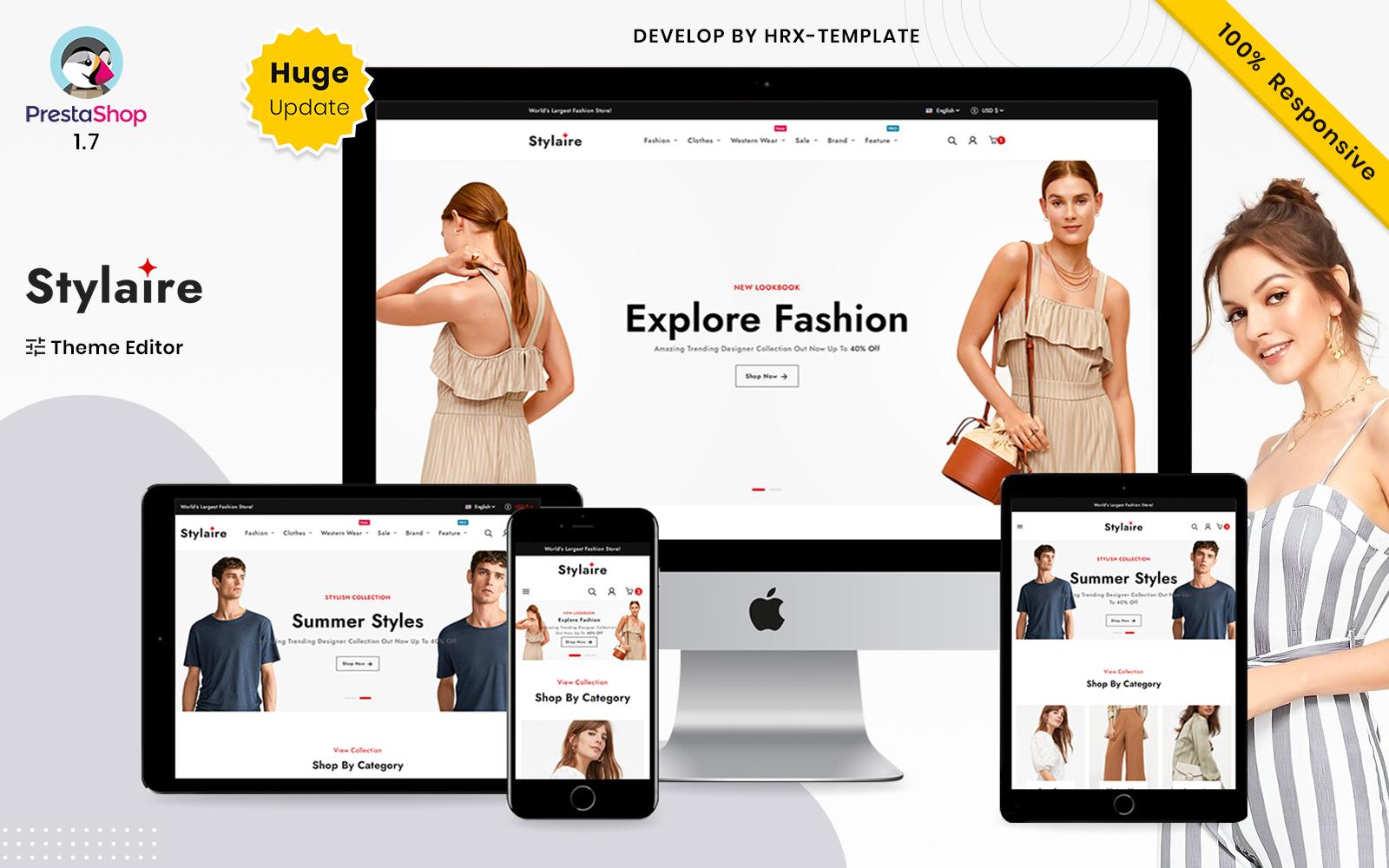 Stylaire Fashion Store voor Prestashop-sjablonen