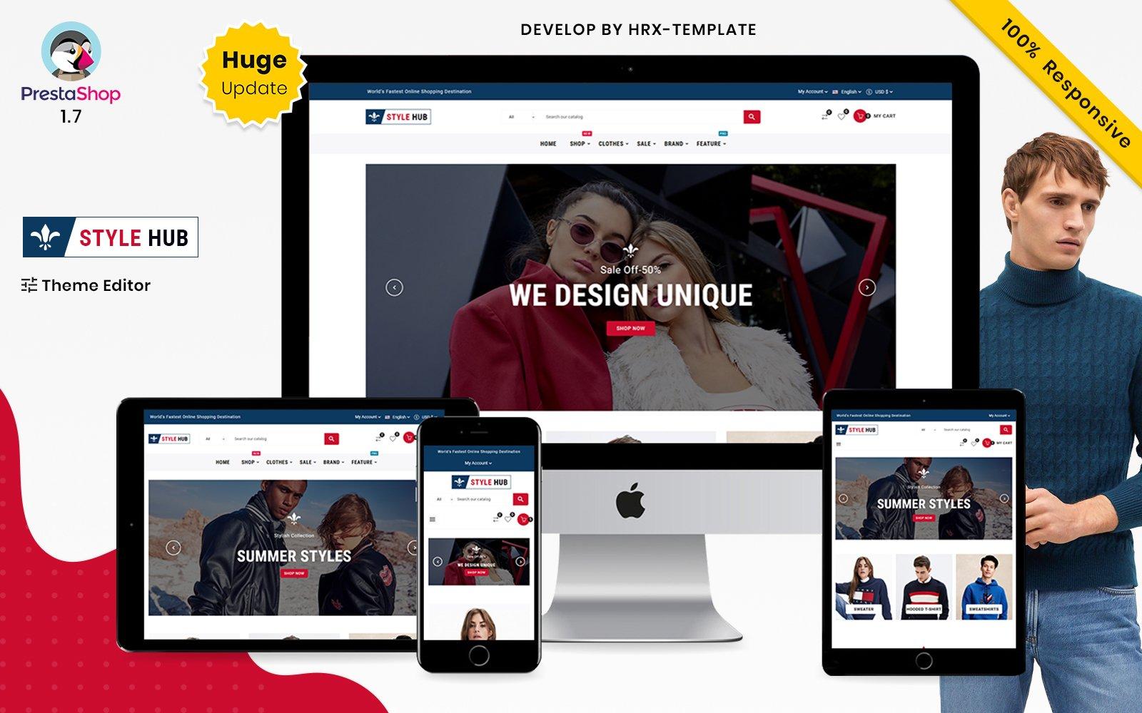Style Hub Mode & Kleding Super Prestashop Store