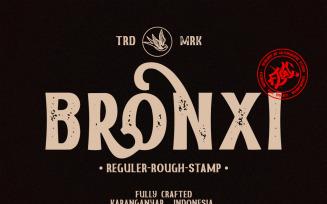Bronxi Fonts