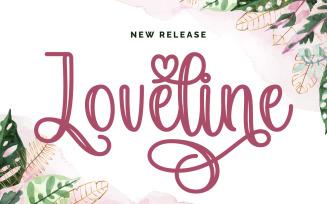 Loveline Fonts
