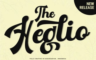 The Heglio Fonts