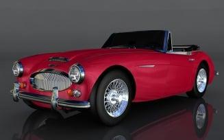 Austin-Healey 3000 3D Model