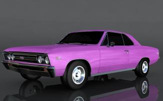Chevrolet Chevelle SS 1967 3D Model